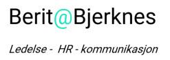 Berit Bjerknes Logo