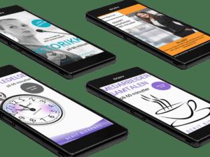 E-bøkene om Ledelse, kommunikasjon og medarbeiderskap